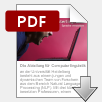 'Was ist Computerlinguistik' als PDF-Flyer